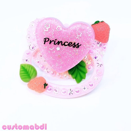 Strawberry Princess - Pink, Red & Green