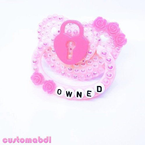 Owned Lock - Pink