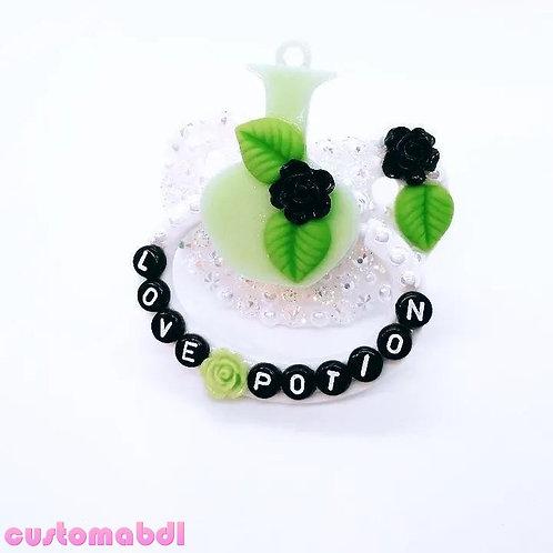 Love Potion - White, Black & Green