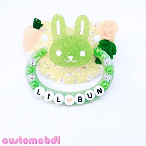 Lil Bun - Yellow, Green & Orange - Bunny Rabbit