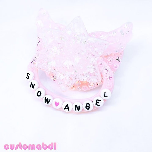 Snow Angel - Pink & White