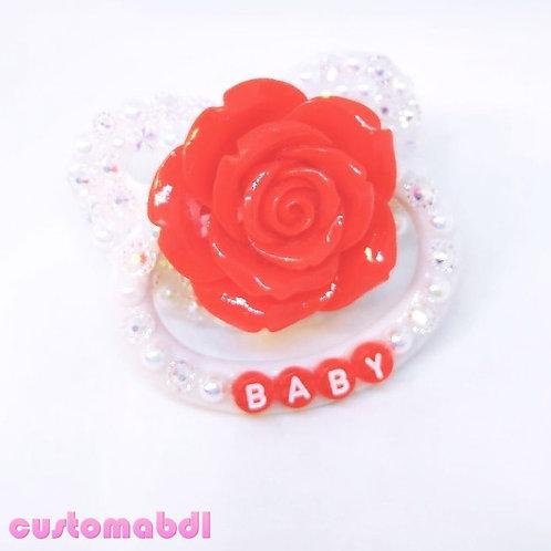 Baby La Fleur - White & Red