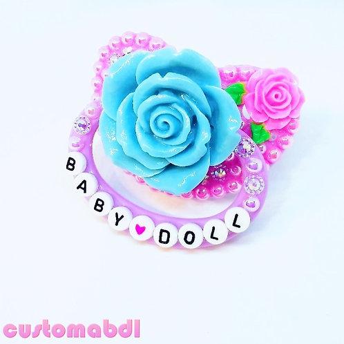 Baby Doll La Fleur - Lavender, Pink & Baby Blue