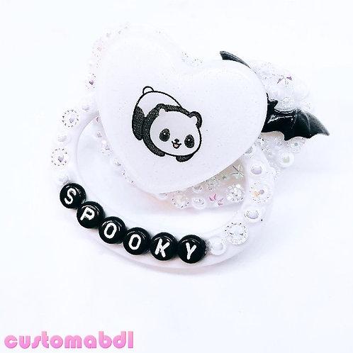 Spooky Panda - White & Black