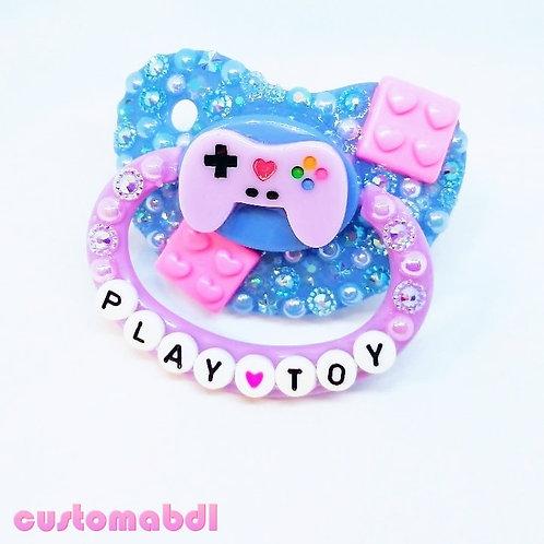 PT Gamer - Lavender, Baby Blue & Pink