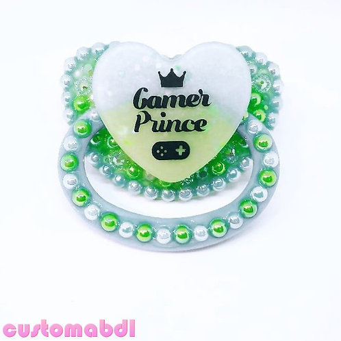 Gamer Prince - Baby Blue & Green