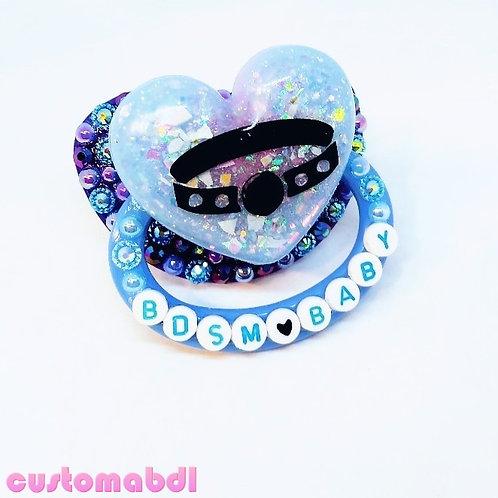 B Baby Heart - Royal Blue & Baby Blue