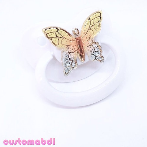 Simple Butterfly - White
