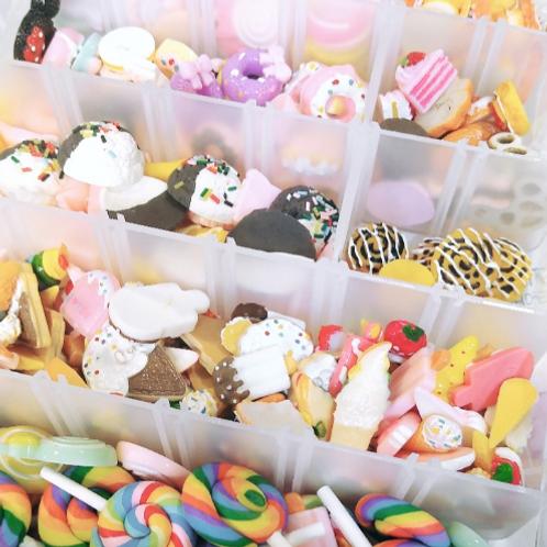 Sweets Cabochon Mix, 10 Pieces, Random Selection