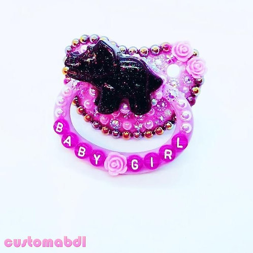 Baby Girl Dinosaur - Lavender & Purple
