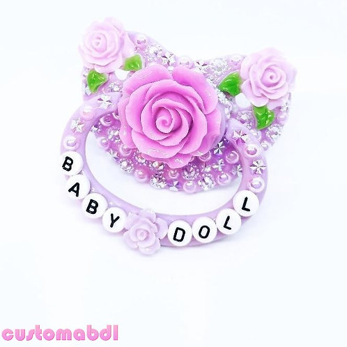 Baby Doll Roses - Lavender