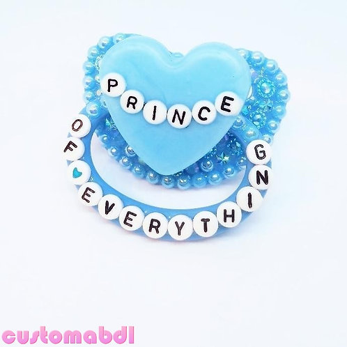 Prince Of Everything Heart - Baby Blue