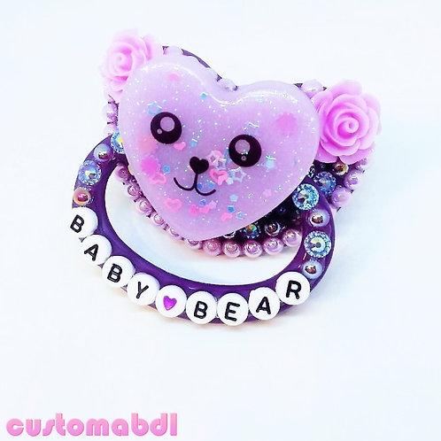 Baby Bear - Purple & Lavender