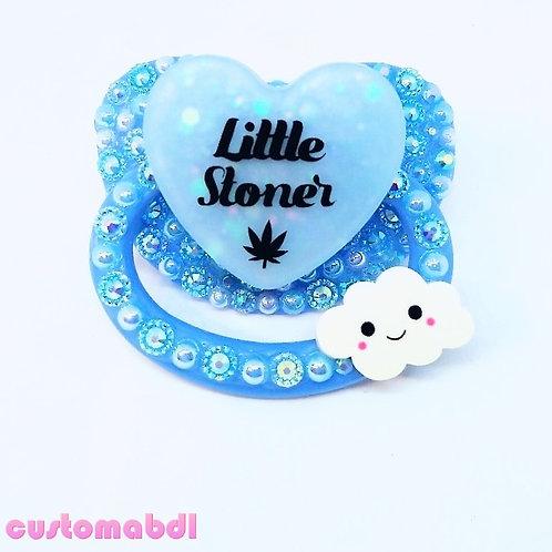 Little Leaf & Cloud - Baby Blue