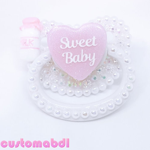 Sweet Baby - White & Pink