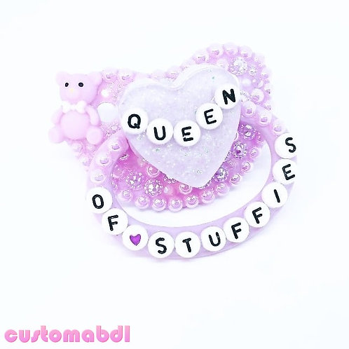 """QUEEN OF STUFFIES"" - Choose Any Color"