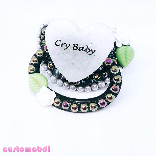 Cry Baby Heart - Black & White