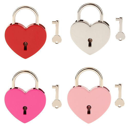 Mini Heart Locks