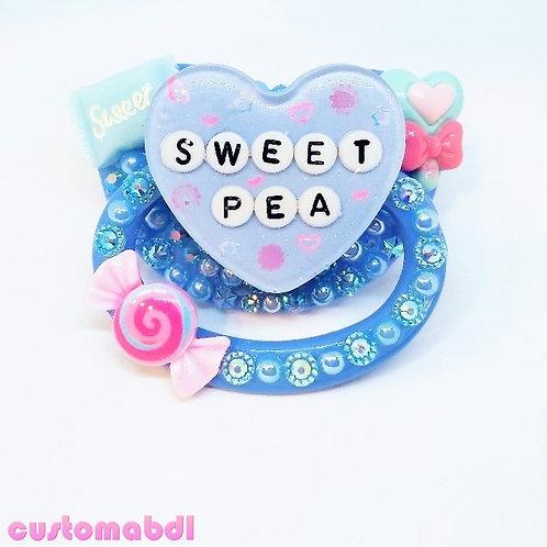 Sweet Pea - Baby Blue & Pink