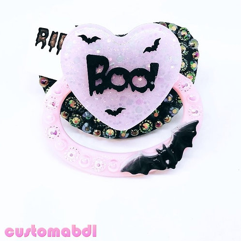 RIP Boo - Pink, Lavender & Black