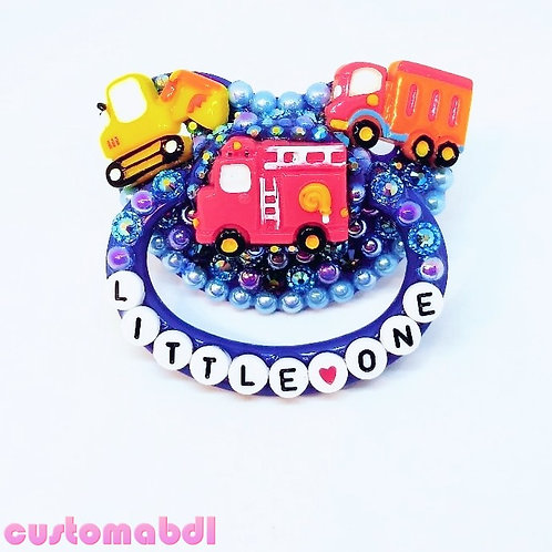 Trucks - Little One - Blue, Yellow, Red, Orange - Primary Colors