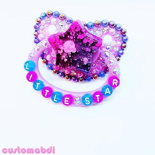 Little Star - Star - Lavender, Purple & Royal Blue