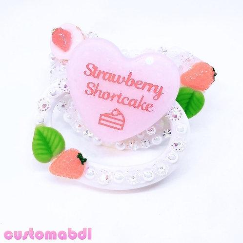 Pink, White, Red & Green Strawberry Shortcake