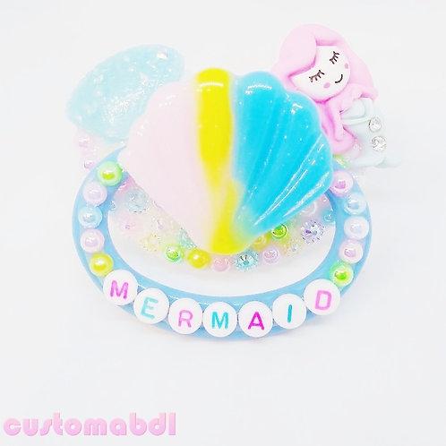 Mermaid - White & Pastels