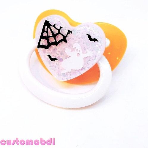 Simple Halloween - Orange, Lavender & White