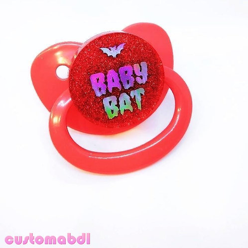 Simple Baby Bat - Red