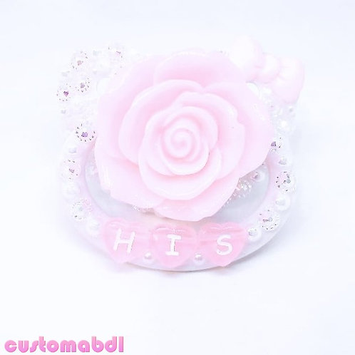 His La Fleur - White & Pink