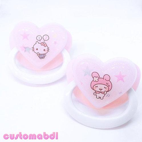 Simple Kawaii - Pink & White
