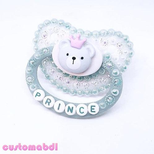 Bear Prince - White & Baby Blue