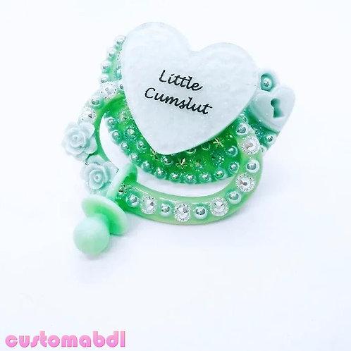 Little CS Heart - Mint Green - Lock