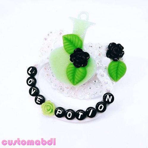 Love Potion - White, Green & Black