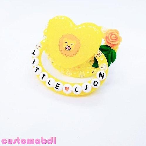 Little Lion - Yellow, Green & Orange