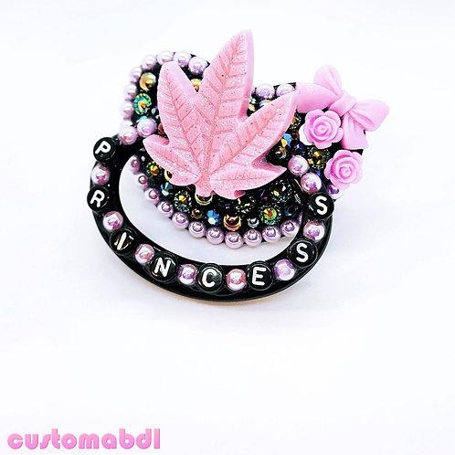 Princess Leaf - Black & Lavender