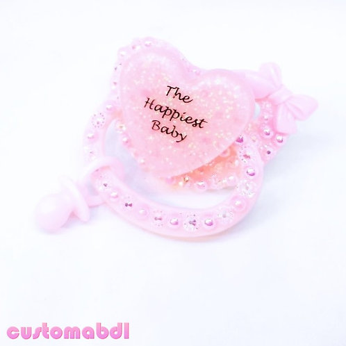 The Happiest Baby w/Charm - Pink