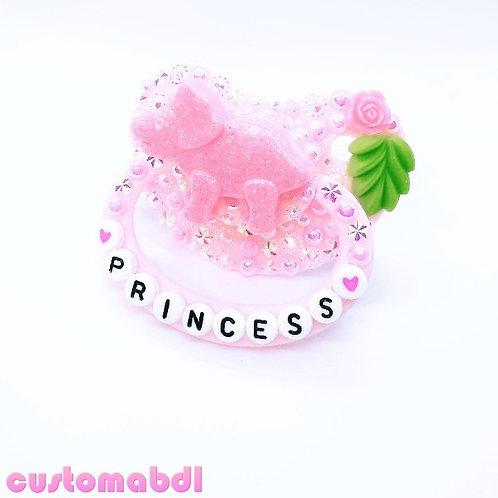 Princess Dino - Pink & Green