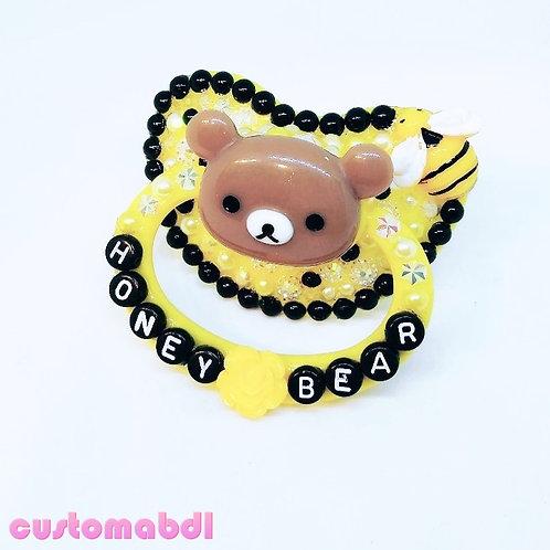 Honey Bear & Bee - Yellow, Black & Brown