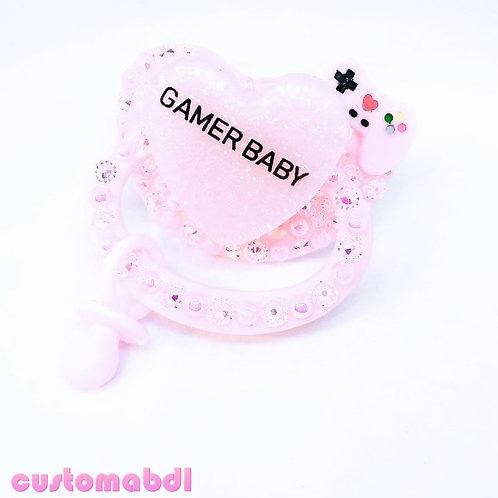 Gamer Baby w/Charm - Pink