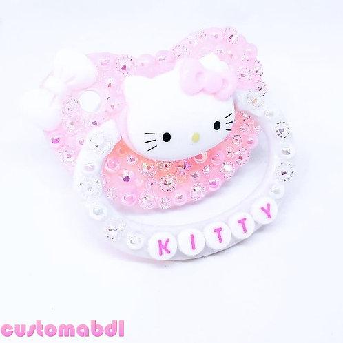 HK Kitty - Pink & White