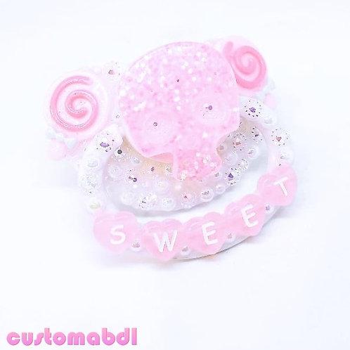 Sweet Skull - Pink & White
