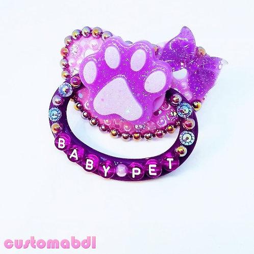Baby Pet Paw - Lavender & Purple