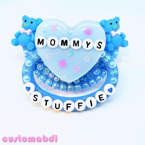 M's Stuffie - Baby Blue