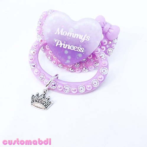 M's Princess w/Charm - Lavender