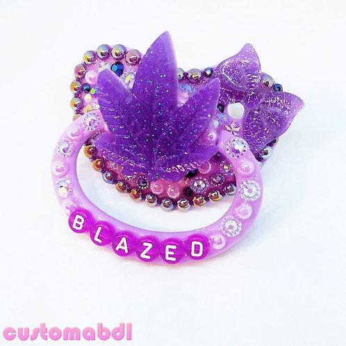 BLZD Leaf - Lavender & Purple