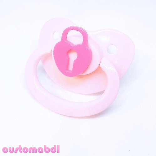 Simple Lock - Pink & Dark Pink