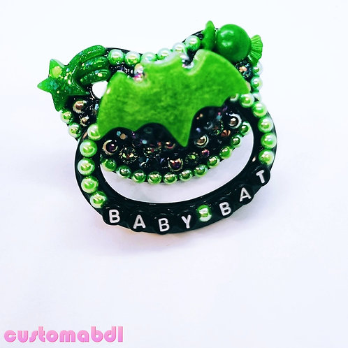 Baby Bat - Black & Green