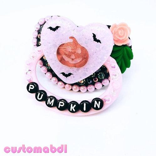 Pumpkin - Pink & Black